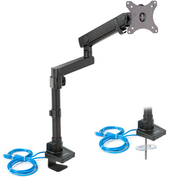 STAND-V101BDU<br><br>Aluminum Single Monitor Desk Stand for 17