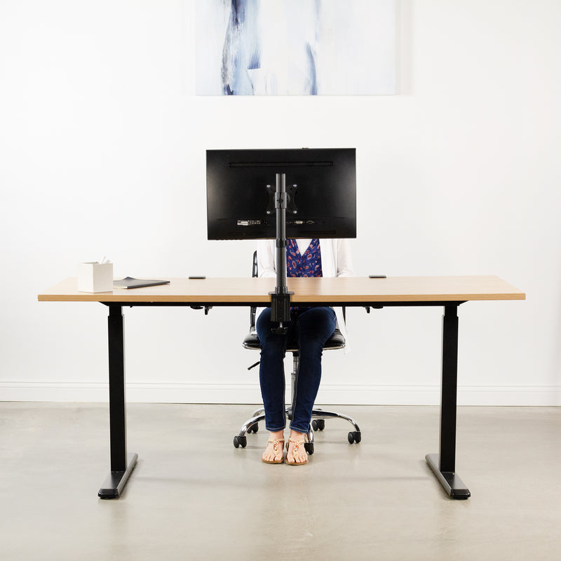 """VIVO TV and Ultra Wide Screen Monitor Desk Mount Stand for Screens up to 42/"""""""