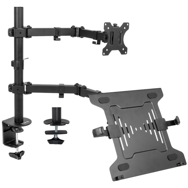 Single Monitor and Laptop Desk Mount