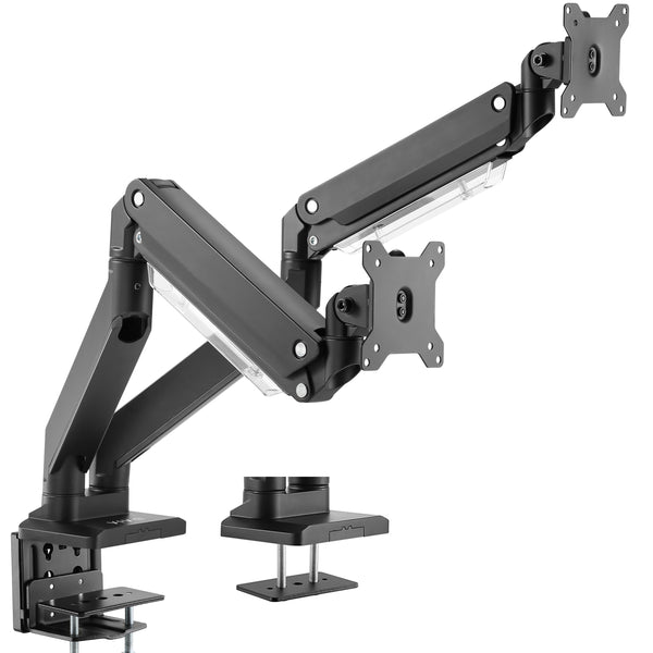 STAND-V102G2<br><br>Pneumatic Arm Dual Monitor Desk Mount