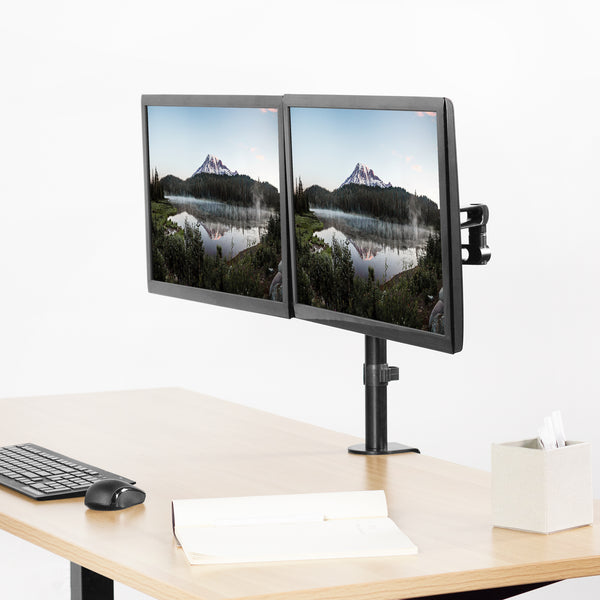 STAND-V102Y<br><br>Dual Monitor Desk Mount