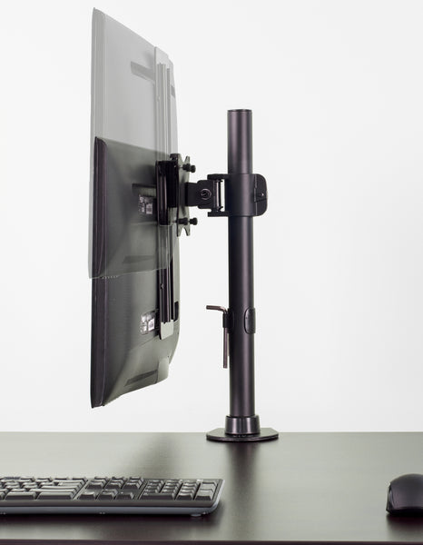 "STAND-VAD3 <br><br><span style=font-weight:normal;>Height Adjustable VESA Adapter Accessory Bracket Kit for Individual Monitor 13"" to 27"" Screens</span>"