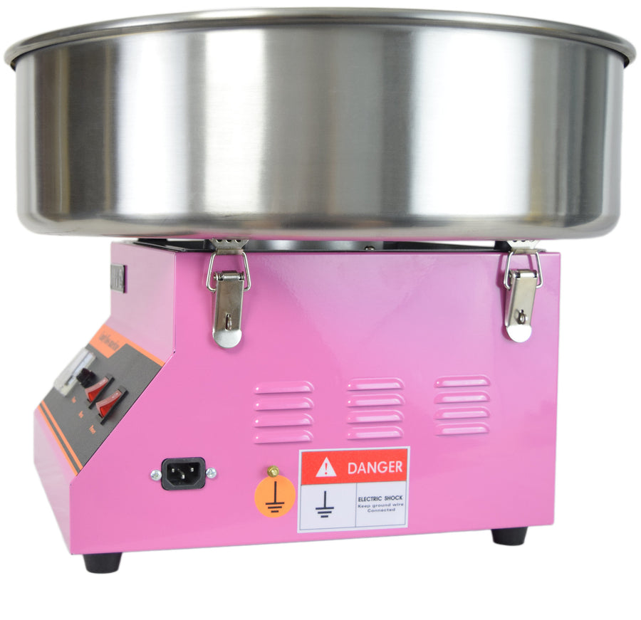 Pink Electric Commercial Cotton Candy Machine