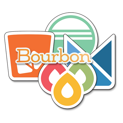 Bourbon Family Sticker Pack