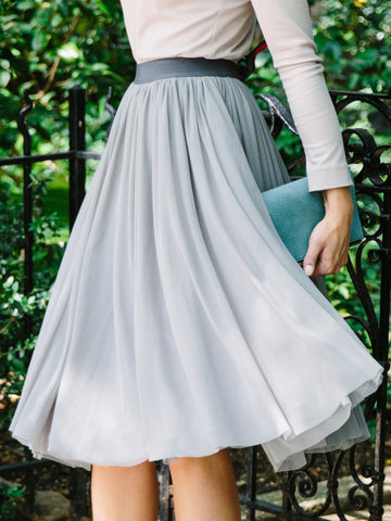Cotton Canary Sweet Pea Skirt (shirt sold separately)