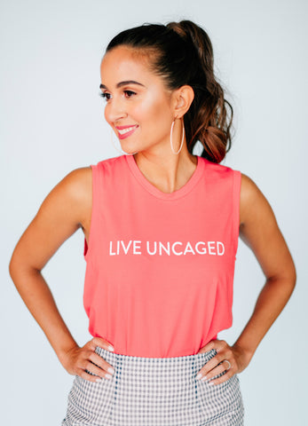 Cotton Canary LIVE UNCAGED Tank
