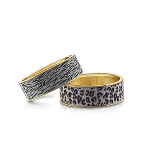 bling cuff bracelets silver and gold