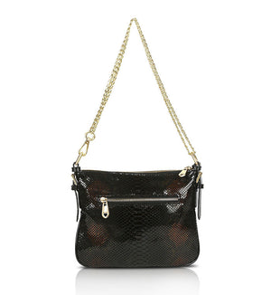 Black-Brown-Patent-Designer-Leather-Crossbody-Handbag