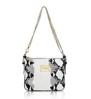 Black-and-white-Designer-Leather-Crossbody-Handbag