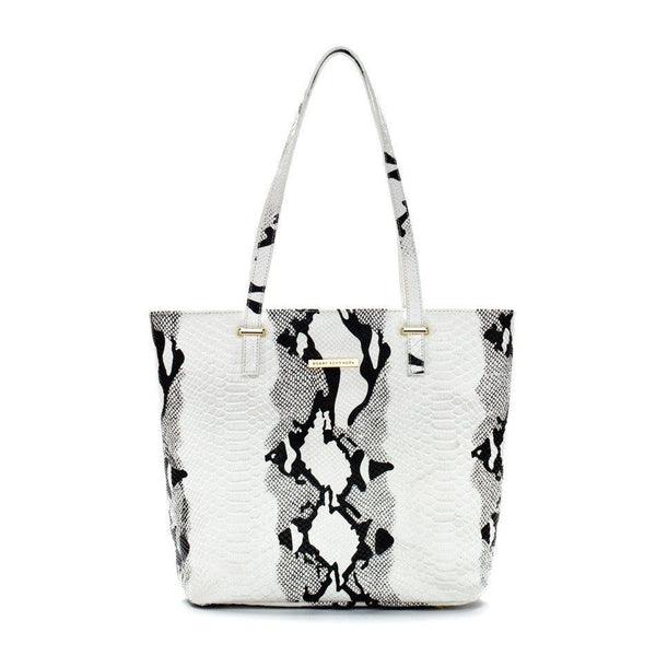 white and black leather tote bag luxury handbags, celebrity bags snake print purse