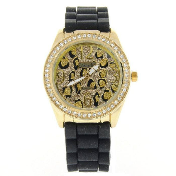Black Leopard Fashion Watch
