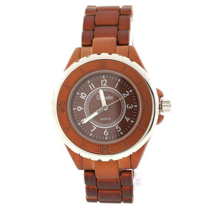 brown fashion watch classsic
