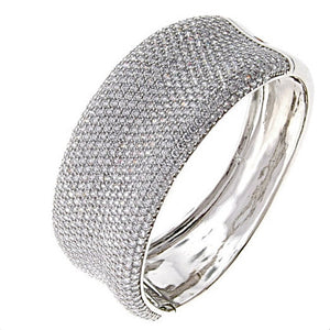 Endless Bling CZ Crystal Bangle Bracelet