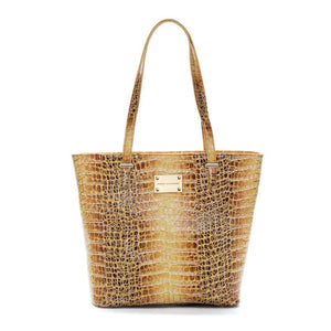 gold tote leather handbag designer bag celebrity fashion luxury bag