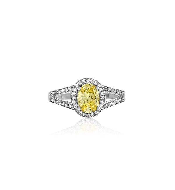 yellow-diamond-cz-silver-ring