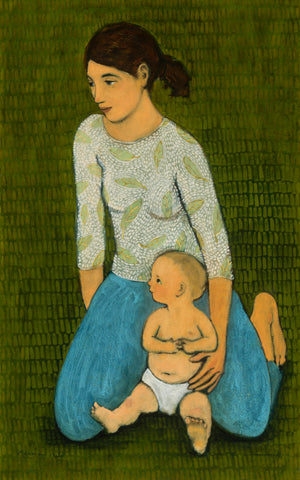 Mother and child - giclee