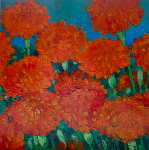 Marigolds - original