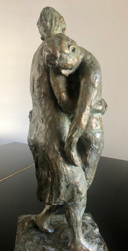 The rescue - sculpture