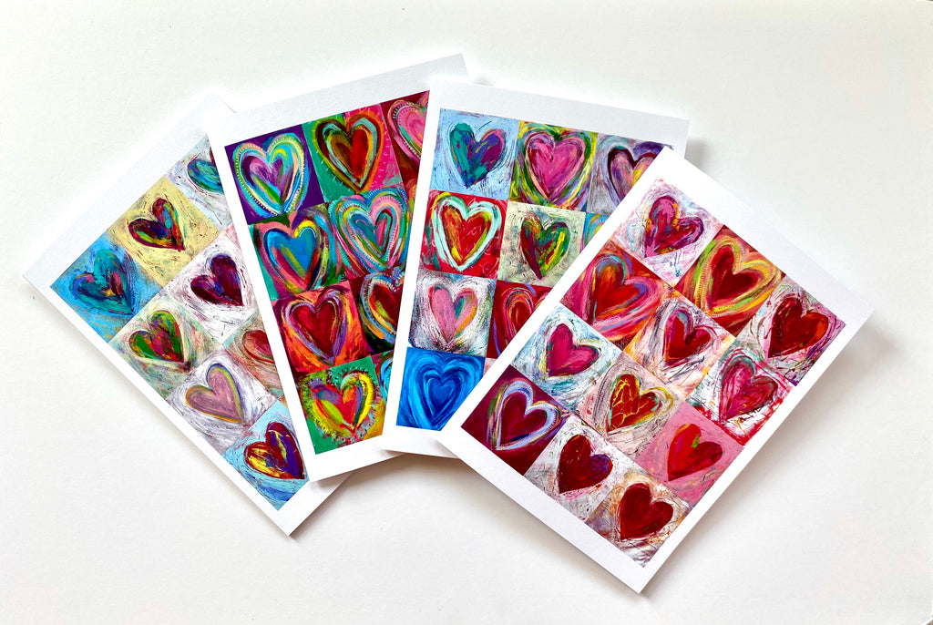 Steve and Tonya Vistaunet Heart Note Cards