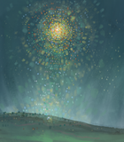 Star of Bethlehem - print