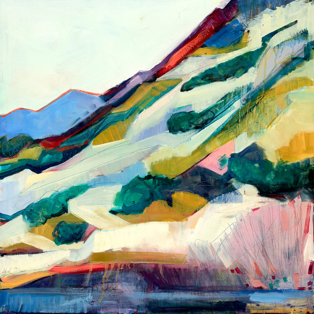 Fire on the Ridgeline - giclee