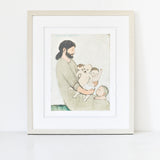 Jesus and the Angry Babies - giclee
