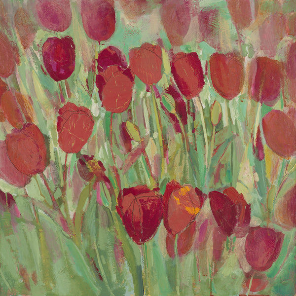 April Tulips - giclee