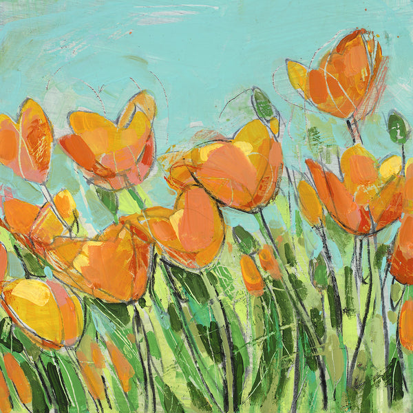 Summer Poppies - giclee