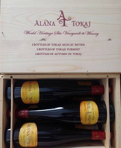 Alana-Tokaj Six Pack - Wood Variety Box