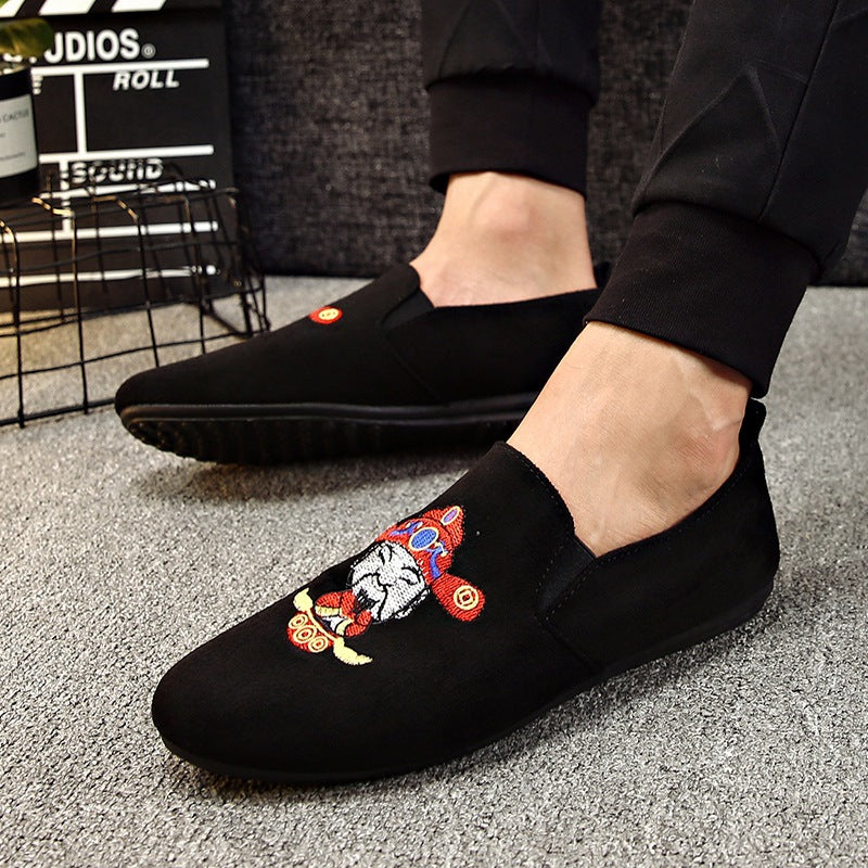 men's shoes pop single shoes casual shoes foot men's shoes
