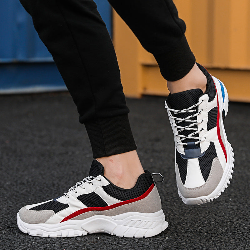 2019 summer mesh men's shoes Korean version ins super fire old shoes ulzzang trend breathable sports shoes men