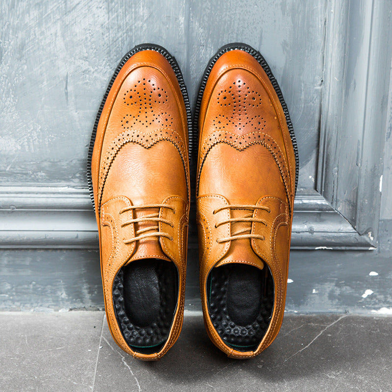 Summer men's shoes British Bullock shoes