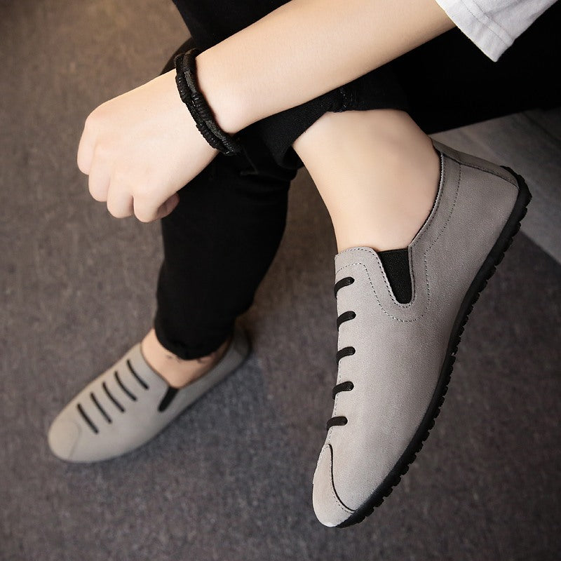 summer wild Korean trend round head rubber tide shoes