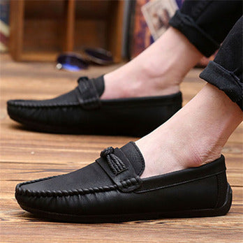 Peas shoes men's Korean version of the summer casual shoes men's shoes trend men's lazy shoes autumn driving shoes sets of feet tide shoes