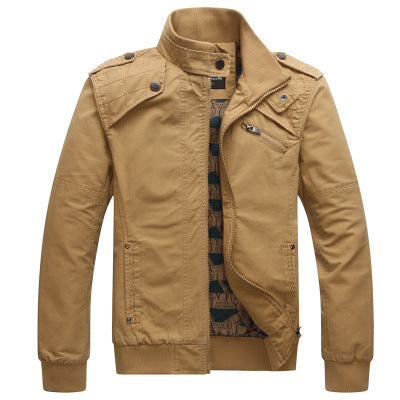 Jacket Men's Wear Youth Amazon Slim Outerwear Tide