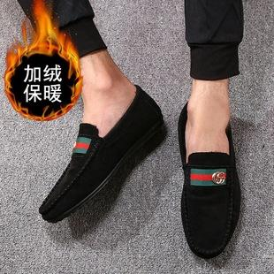 men's shoes low helper feet lazy people driving shoes 2020