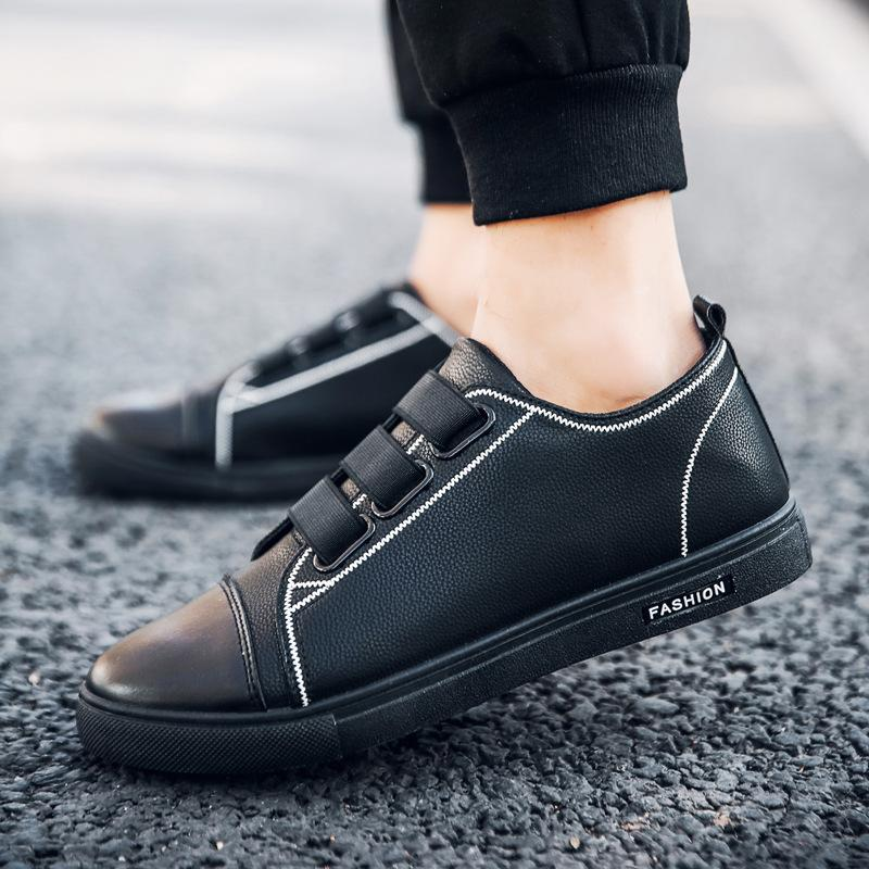 men's lazy shoes shoes elastic band casual shoes