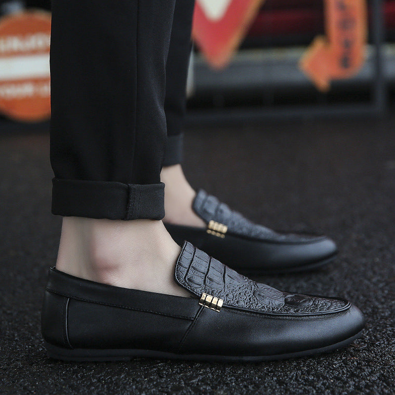 spring new men's shoes social guy casual shoes lazy tide shoes