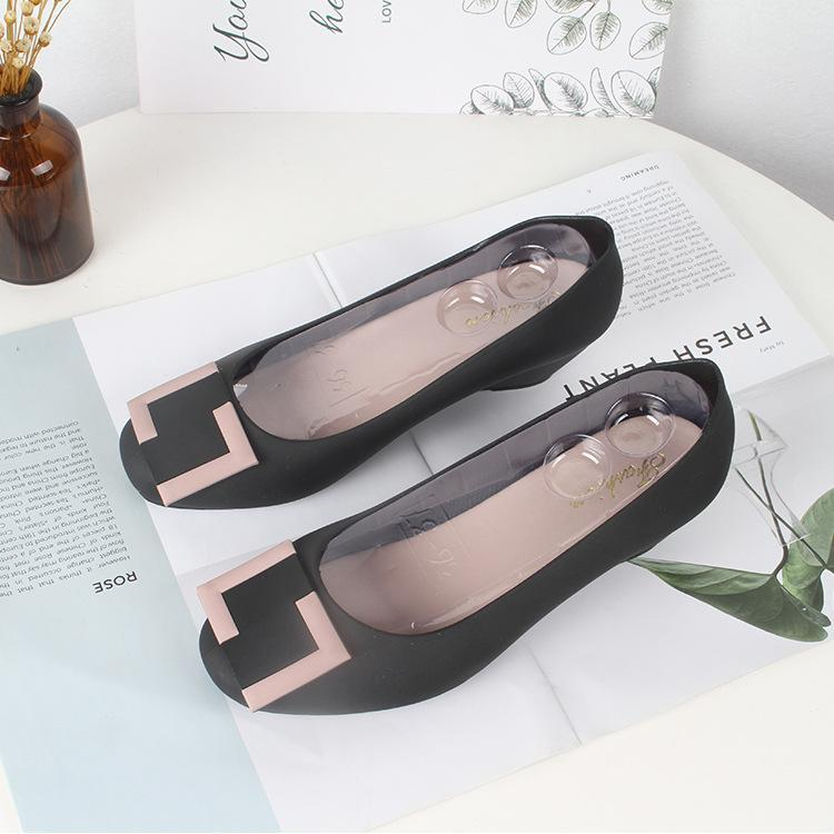 round head matte non-slip wear sandals-2019