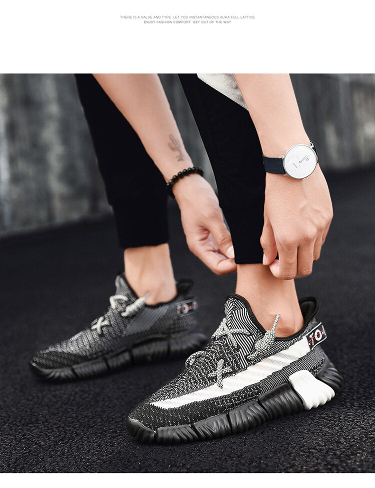 Running Shoes For Men Sneaker Lightweight Man Trainers Breathable Air Mesh Sports Shoes Jogging Footwear Walking Athletics Shoes