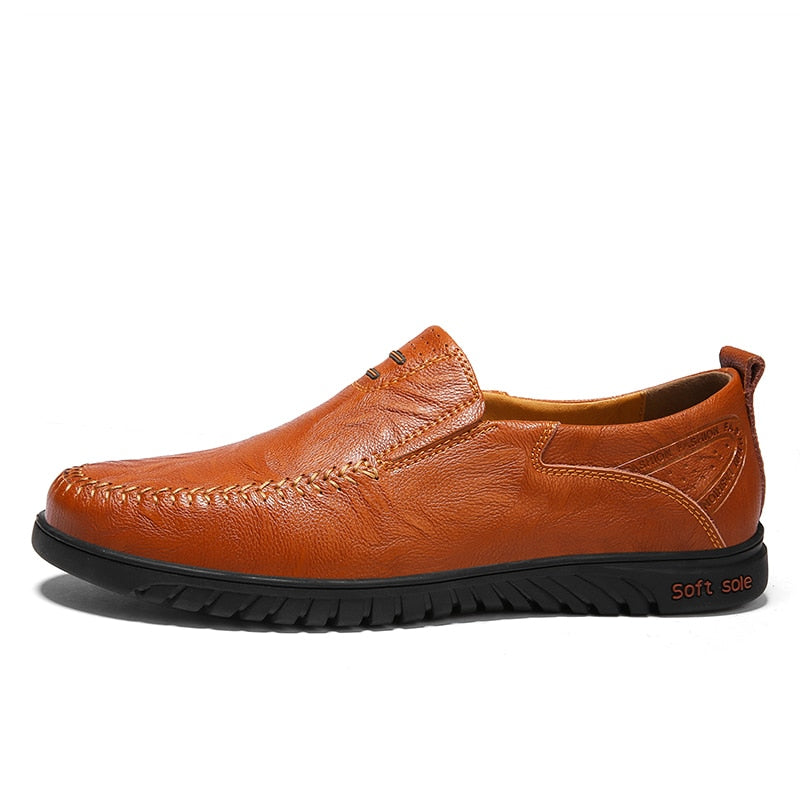 Men Shoes Genuine leather Comfortable Men Casual Shoes
