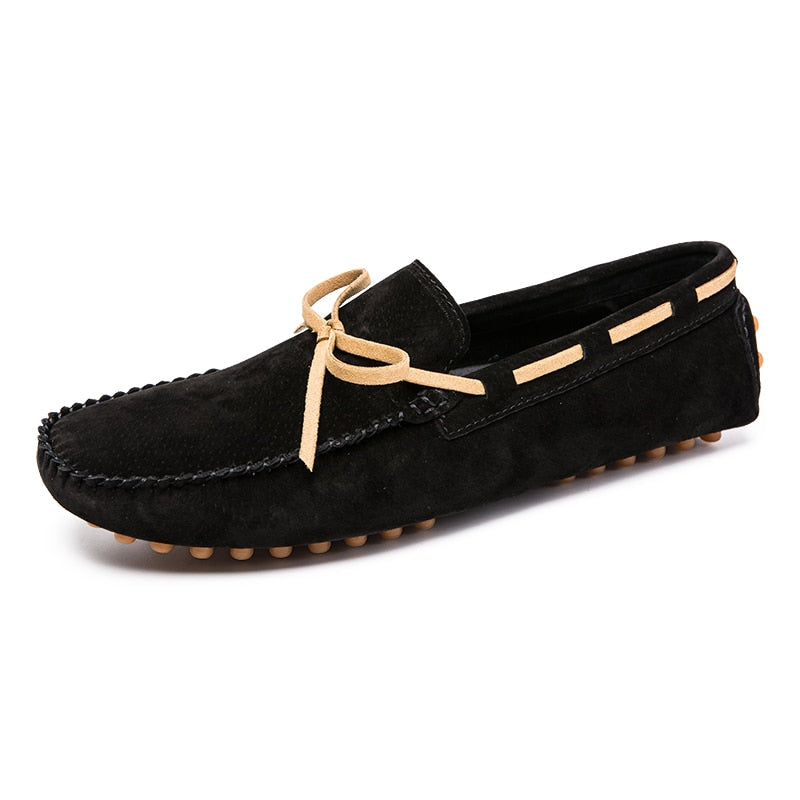Men's Casual Shoes British Style Moccasins Genuine Leather Flats Zapatos Hombre Loafers Footwear Men Winter&Sping Chaussures