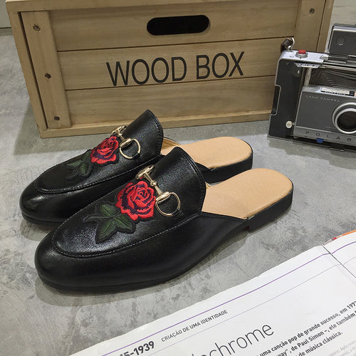 Men Loafer Shoes Semi Slipperse