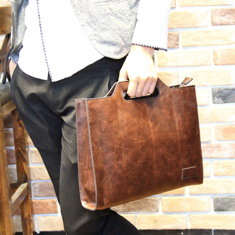 youth messenger bag men's leisure business briefcase tide