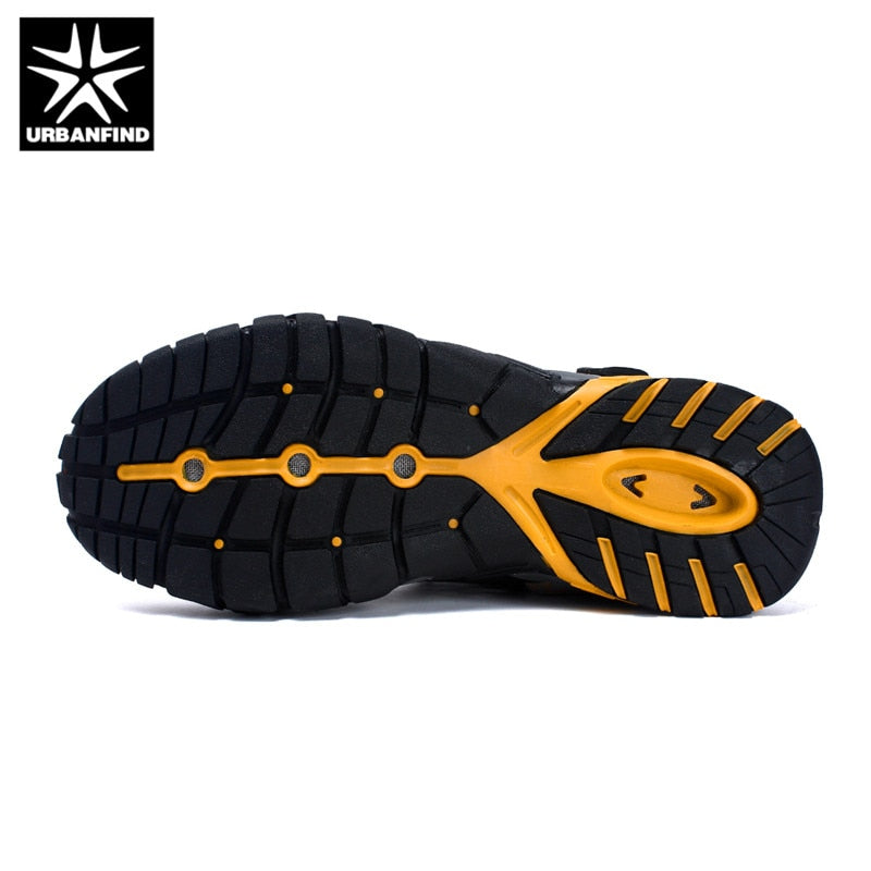 URBANFIND Brand Men Summer Mesh Sandals Plus Size 35-47 Unisex Style Male Female Breathable Casual Shoes Beach Water Sandals