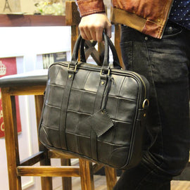 men fashion leather business bag