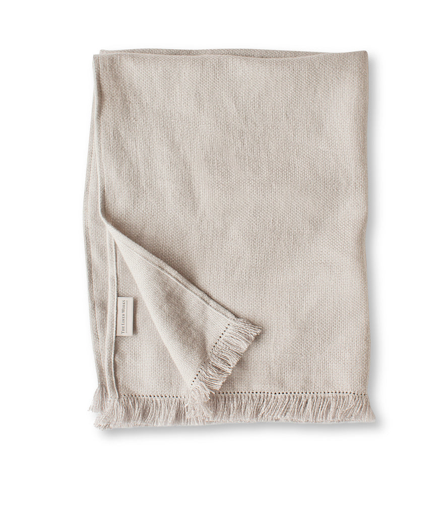 Fringe Motte Linen Hand Towel | Living | Fork + Rose: Home and Table