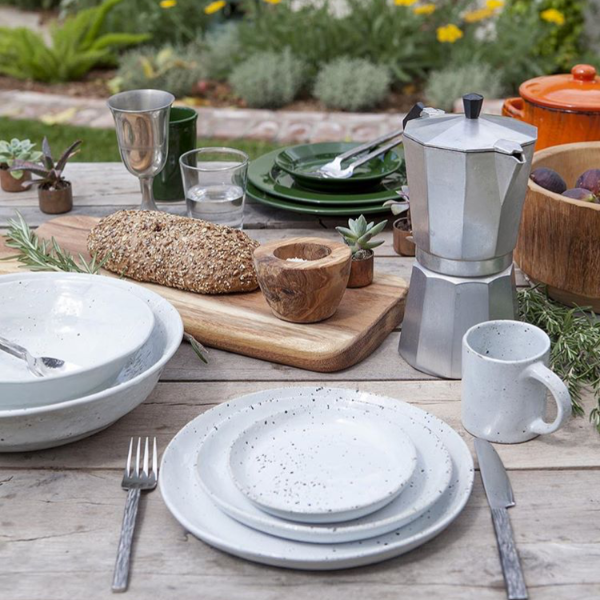Rustic Stoneware Collection | Table | Fork + Rose: Home and Table Decor