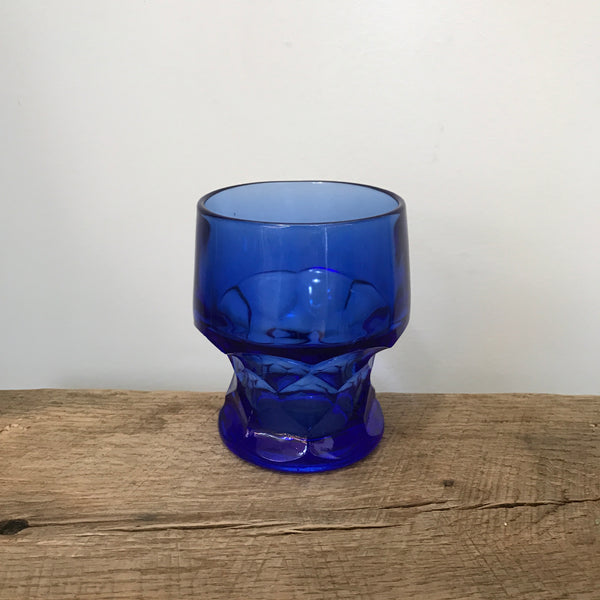 Vintage Blue Anchor Hocking Tumbler (set of 6)