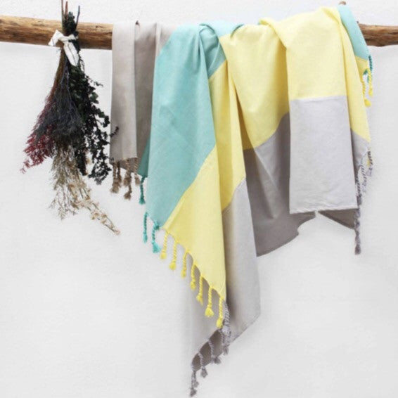 Multi-Colored Beach Blanket | Outdoor | Fork + Rose: Home and Table Decor